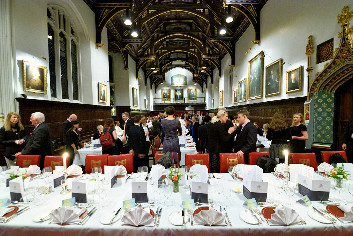 IFLC2016 Gala Dinner at at the historic St John's College