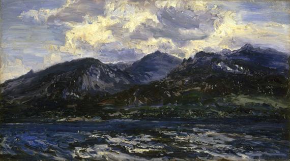 Arran (Across Kilbrannan Sound) by Henry Moore