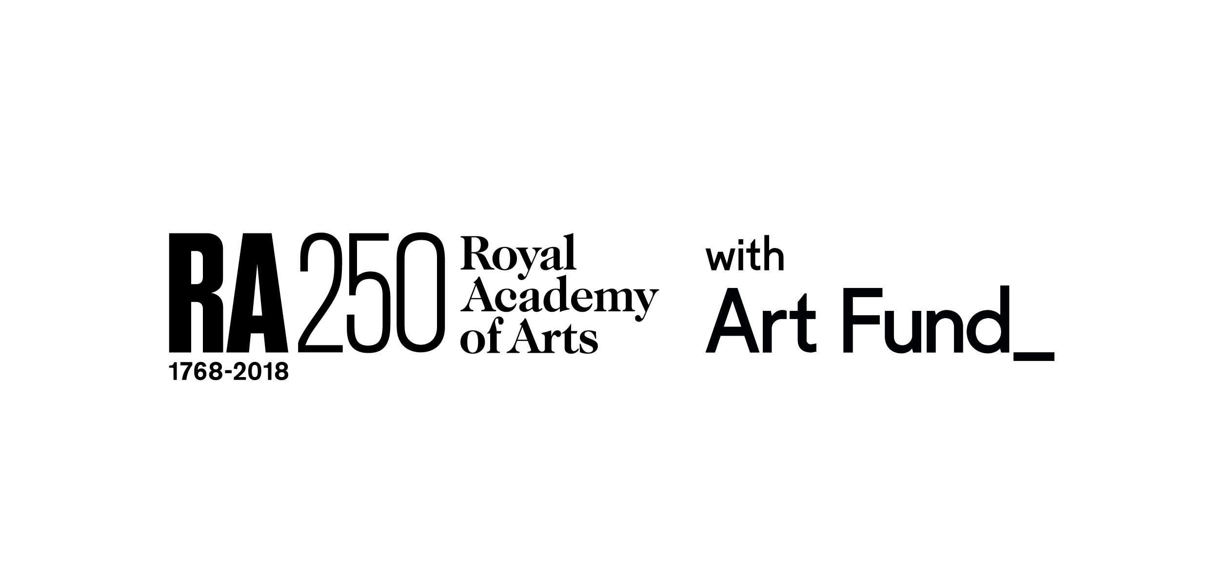 Royal Academy supported by the Art Fund (logos)