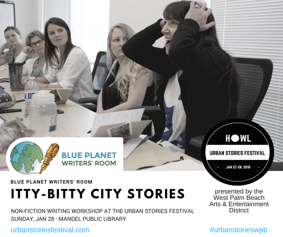 Itty-Bitty City Stories Writing Workshop