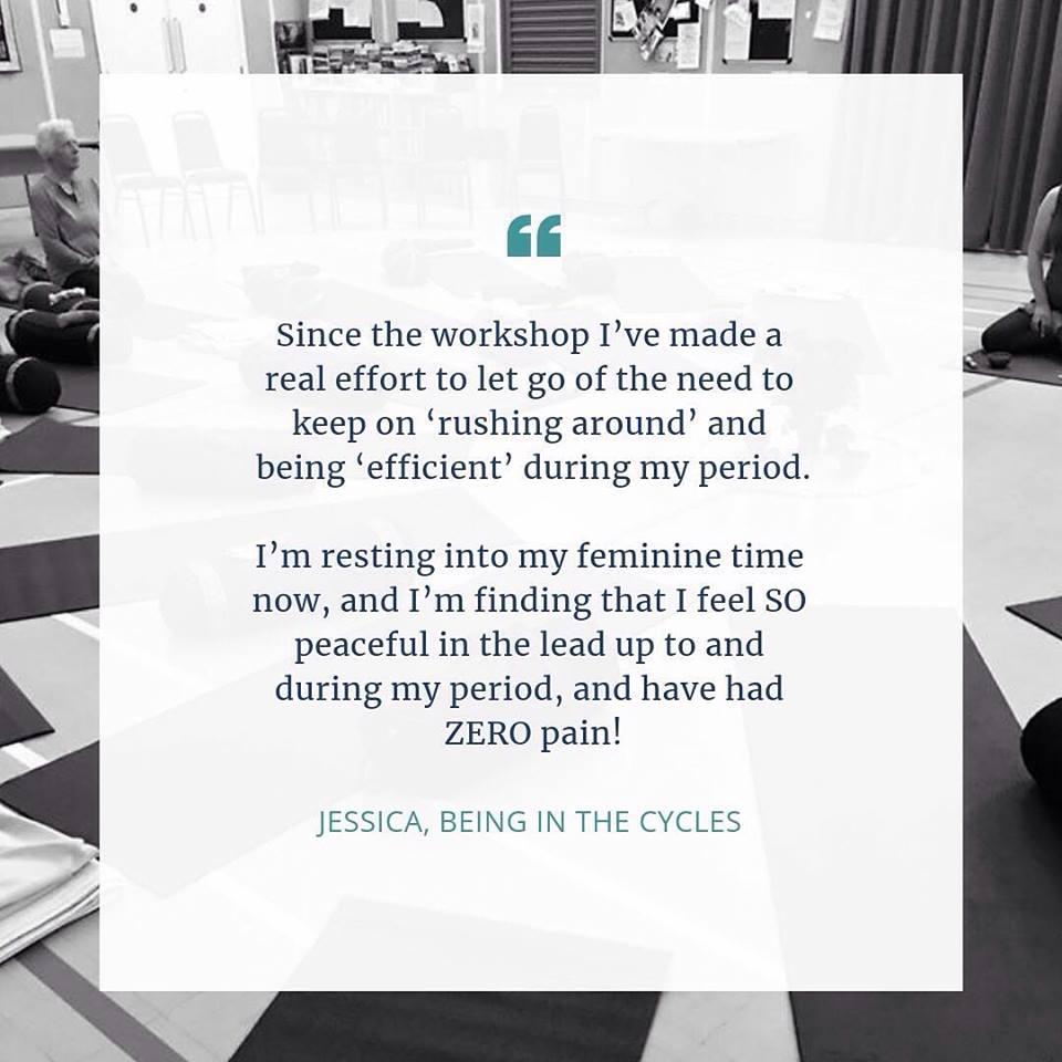 Jessica's feedback