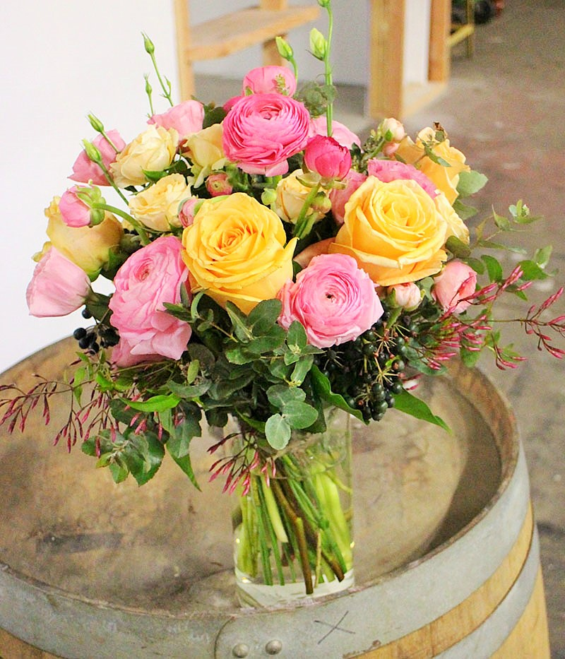 sydney vase arrangement workshop