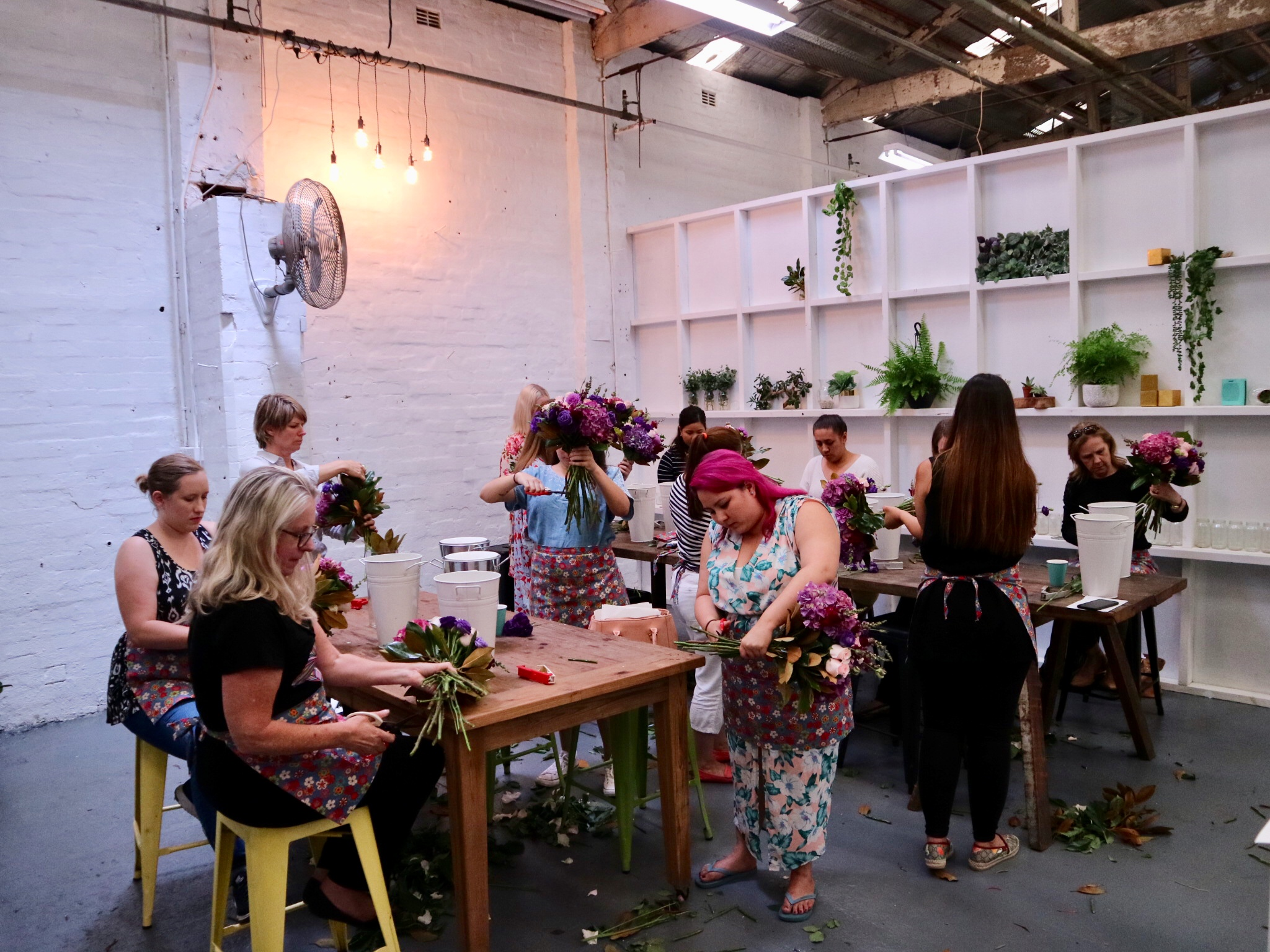 Sydney flower workshop