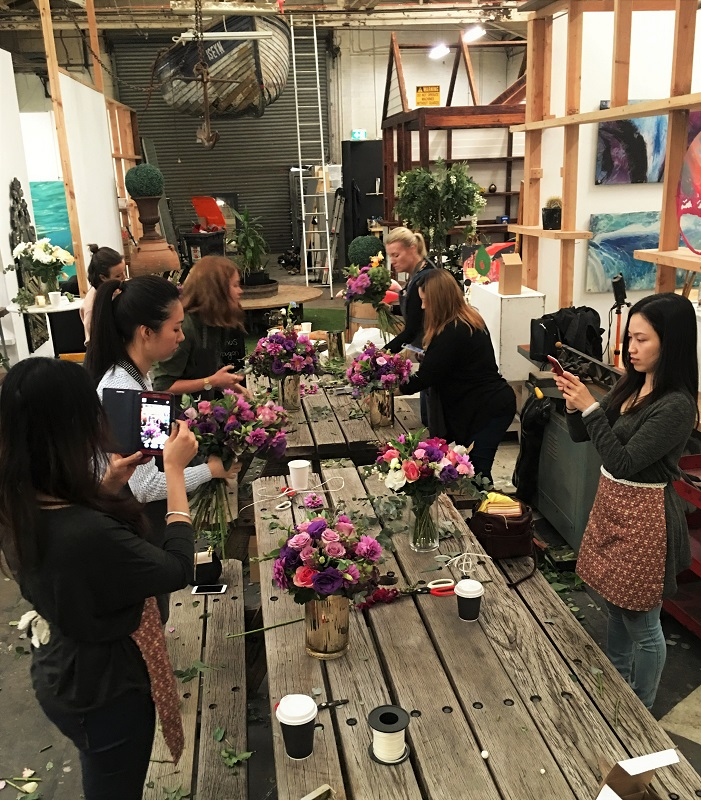 floral workshop sydney