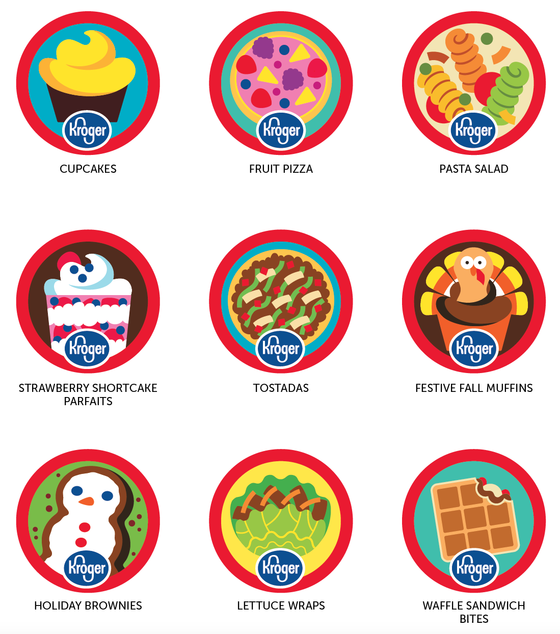 Kroger Monthly Patches