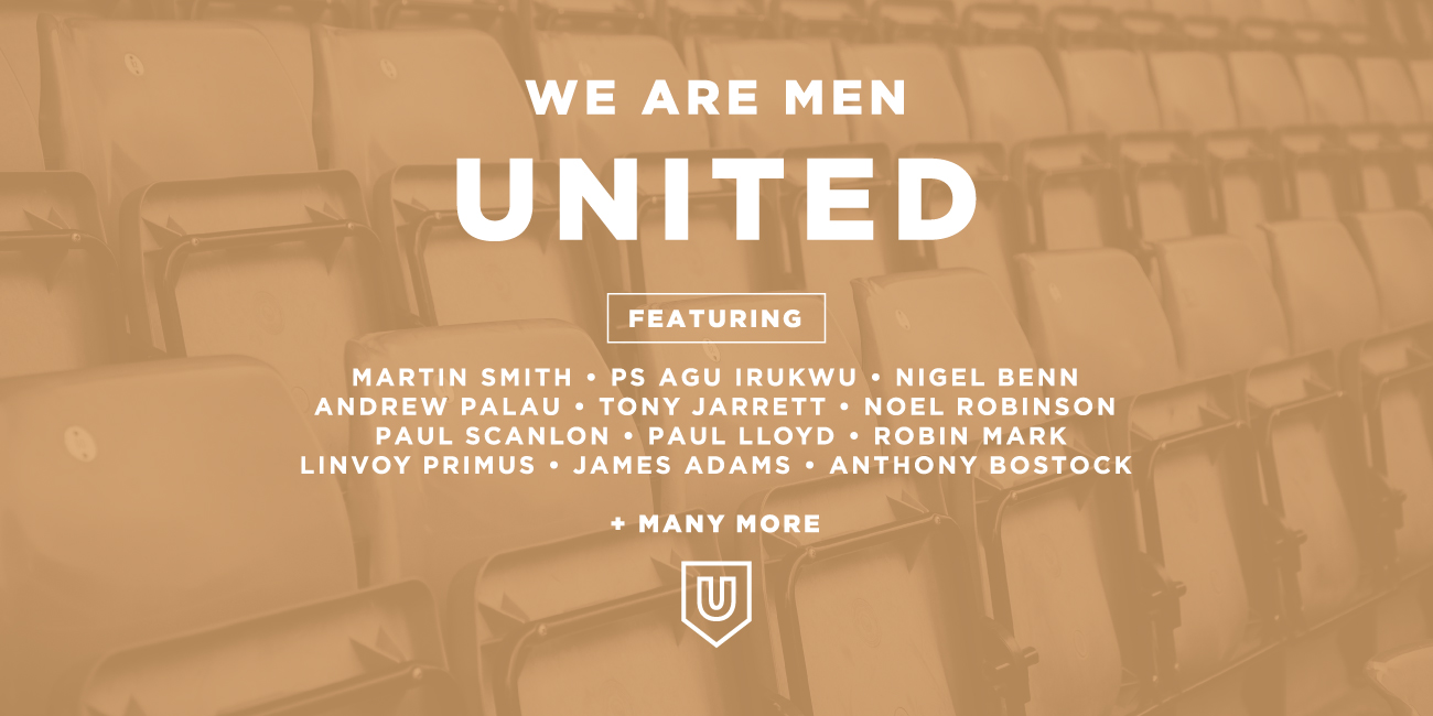We Are Men United line up