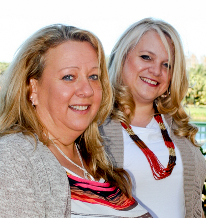 Michele and Kelly of Red Feather Networking