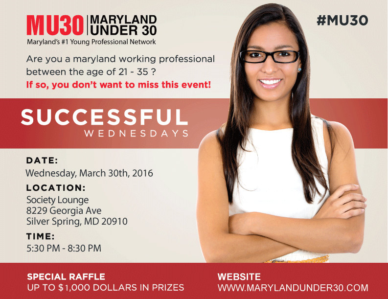 Maryland Under 30 - Professional Happy Hour Event