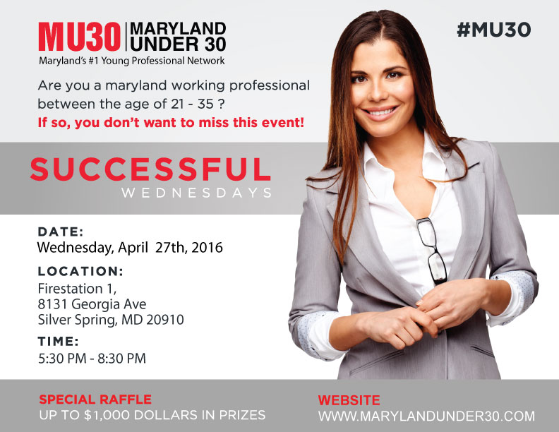Maryland Under 30 - Professional Networking Event