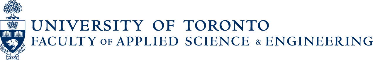 logo for Faculty of Applied Science & Engineering, University of Toronto