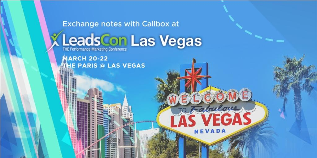 Exchange Notes with Callbox at LeadsCon Las Vegas