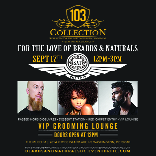 for the love of beards naturals dc tickets sat sep 17 2016 at 12 00. Black Bedroom Furniture Sets. Home Design Ideas
