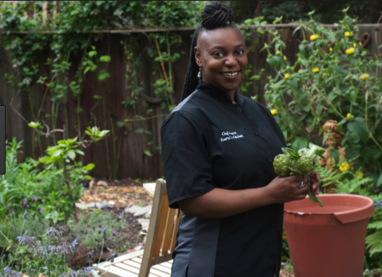 Chef Ikeena Reed Hardman of Keena's Kitchen, Organic Modern Soul Food