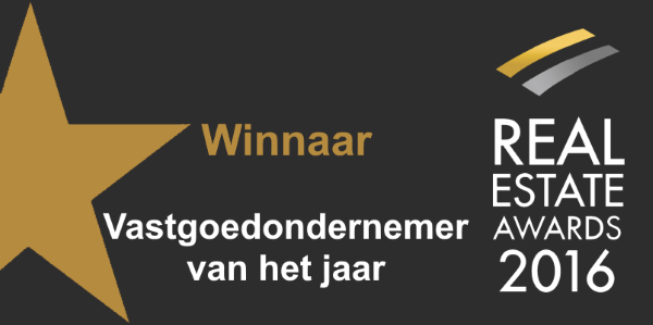 Winnaar Real Estate Awards 2016
