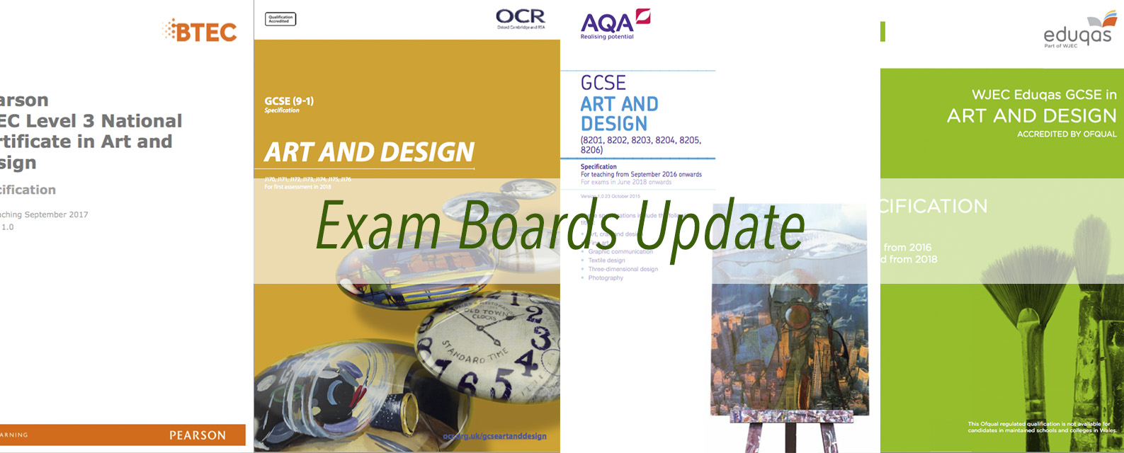 Exam boards Update Textiles