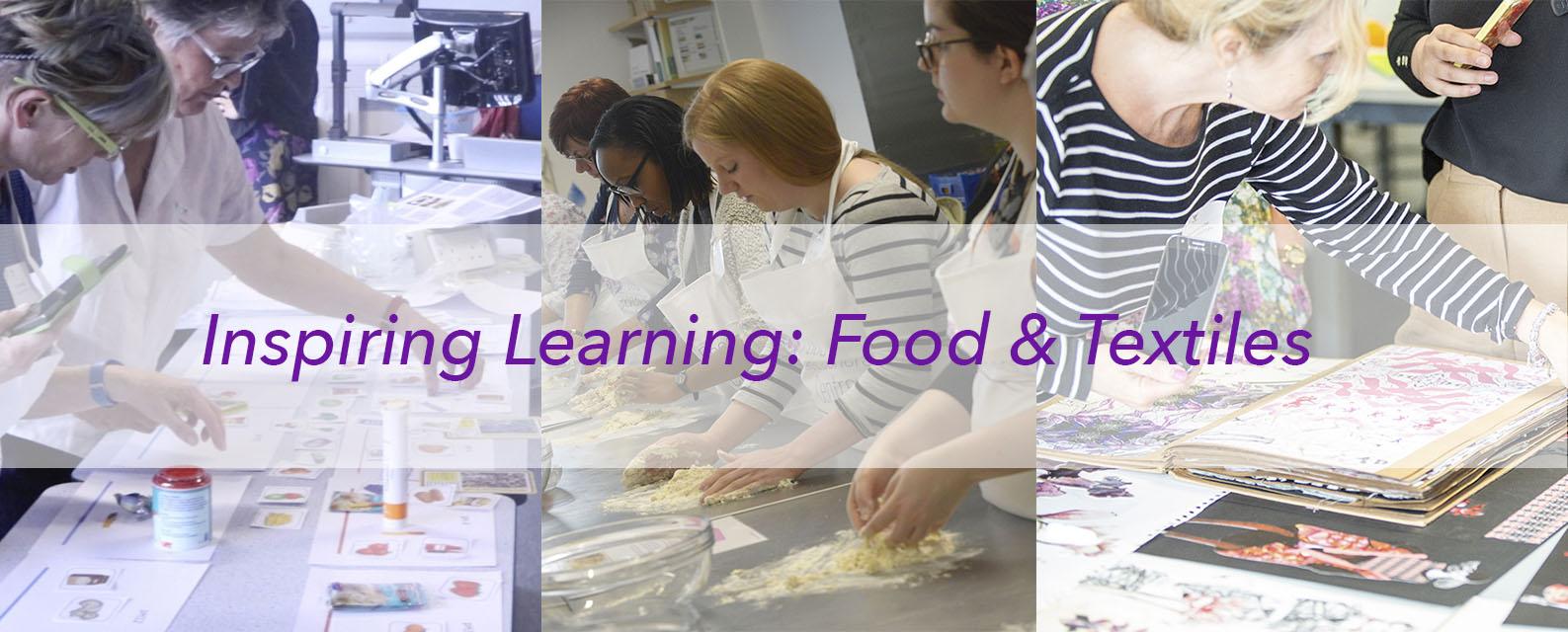 Food & Textiles Teachers Event Collage