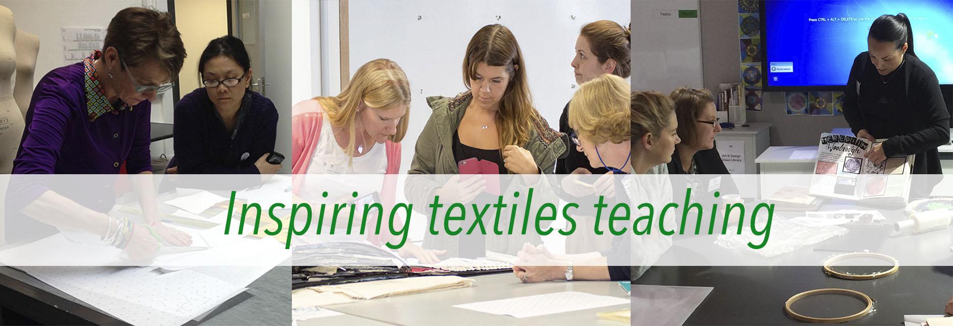 Textiles Skills Academy event