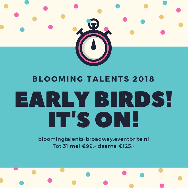 Tickets Blooming Talents 2018