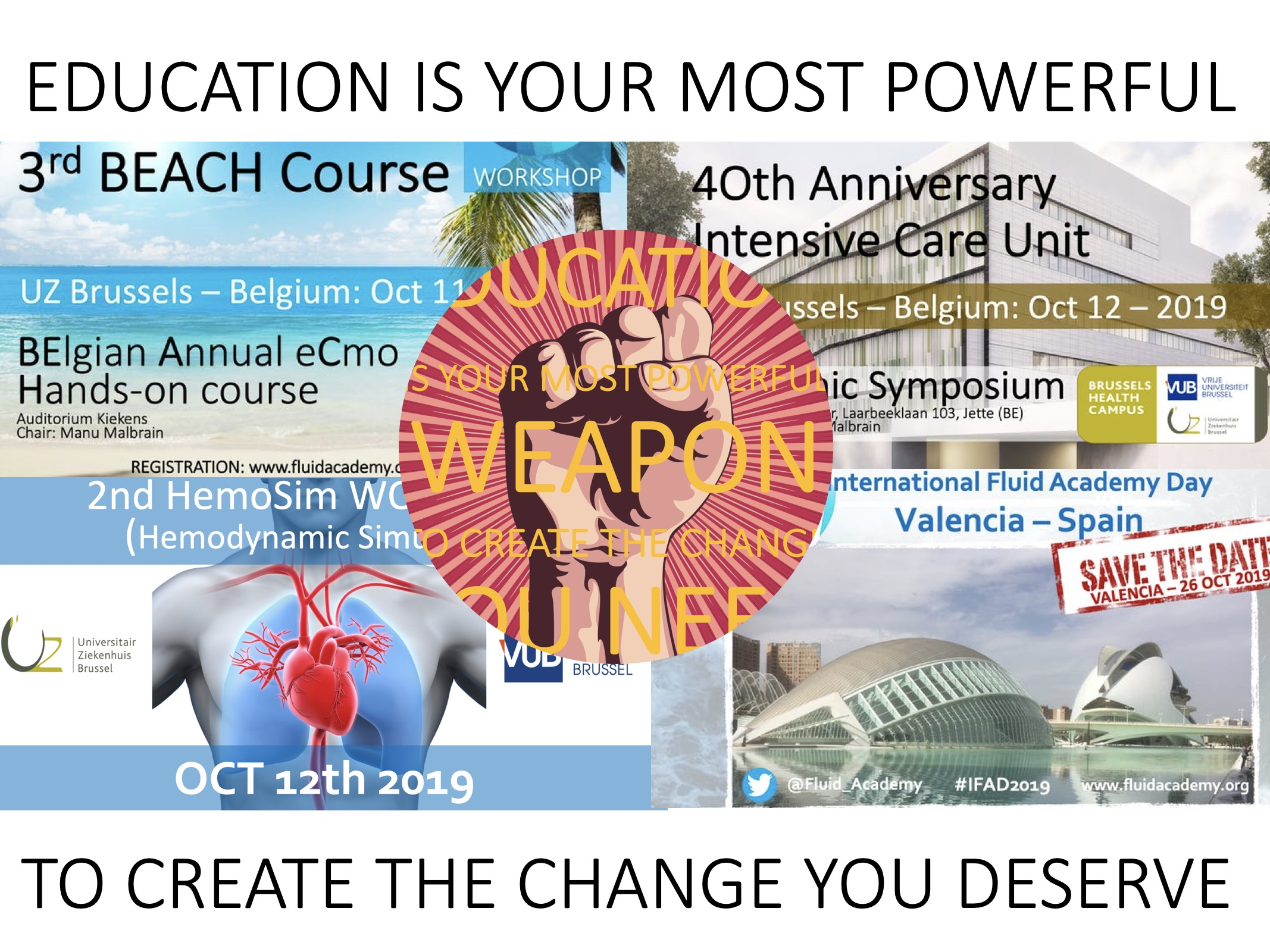 3rd BEACH course (BElgian Annual eCmo Hands-on)