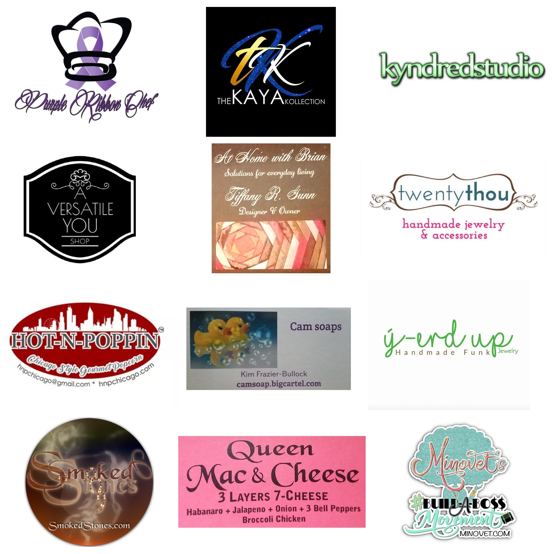 Event Sponsors and Vendors