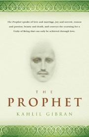Book cover of The Prophet by Kahil Gibran