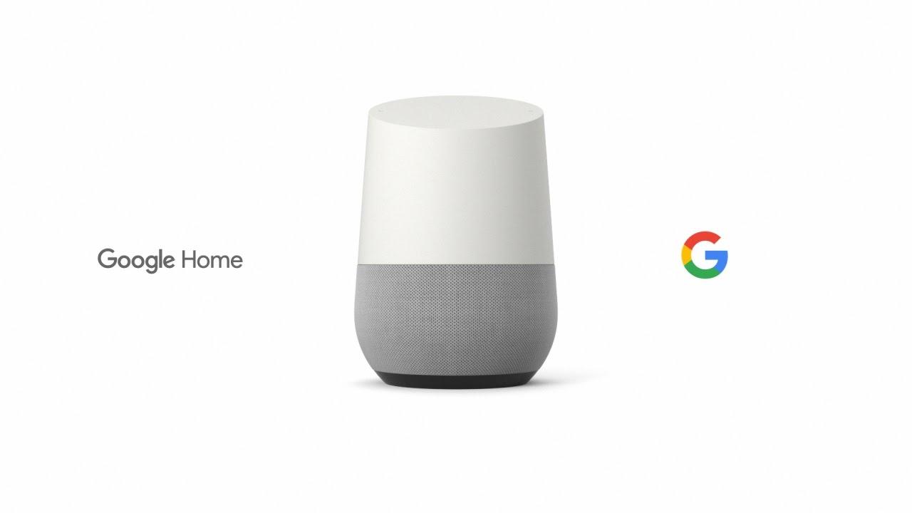 Google Home unit
