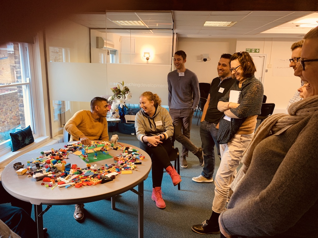 Using Lego to learn coaching and facilitation skills