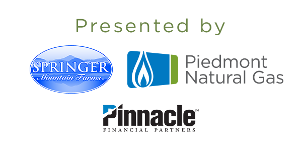 Presented by Springer Mountain Farms, Piedmont Natural Gas, and Pinnacle Financial Partners