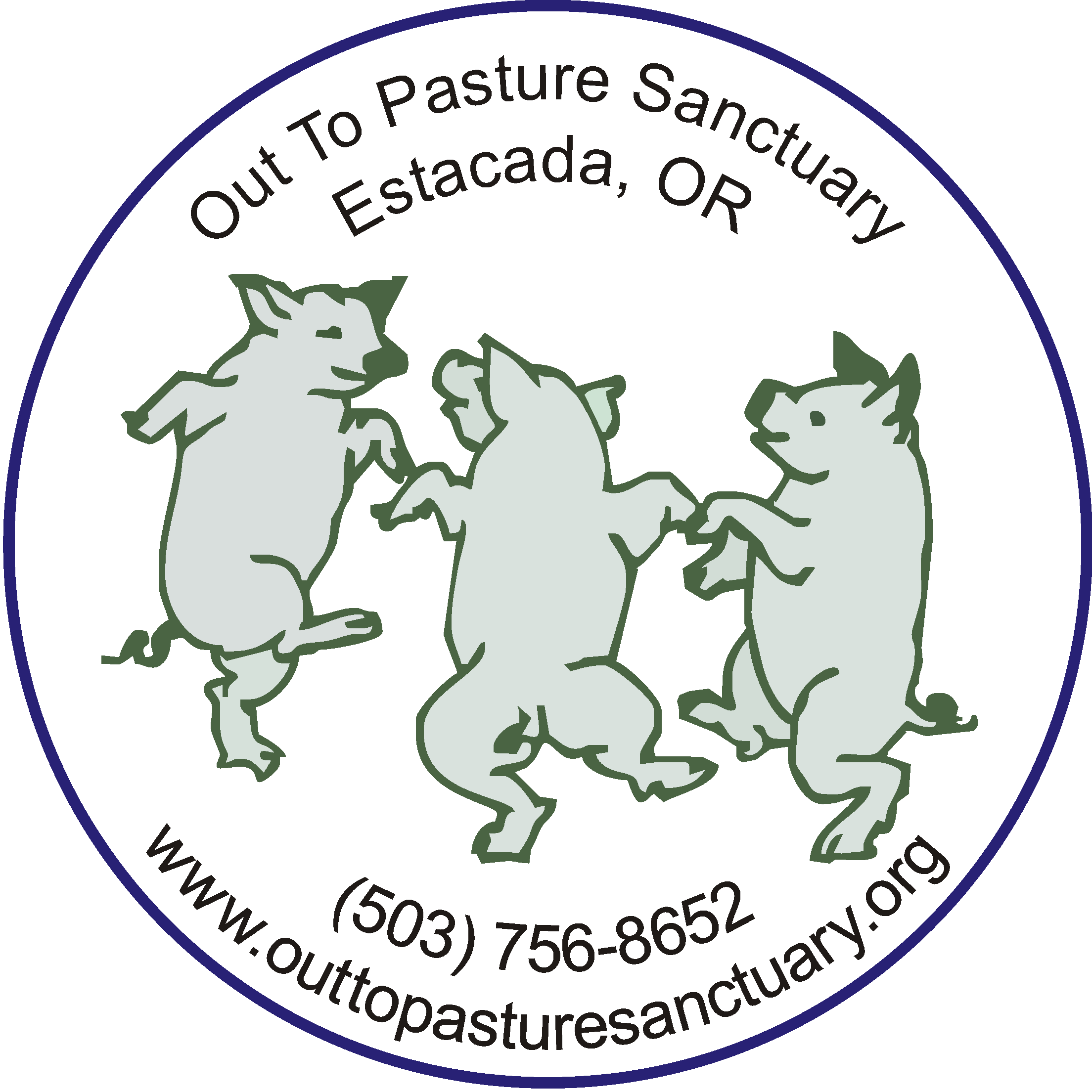 Out to Pasture logo