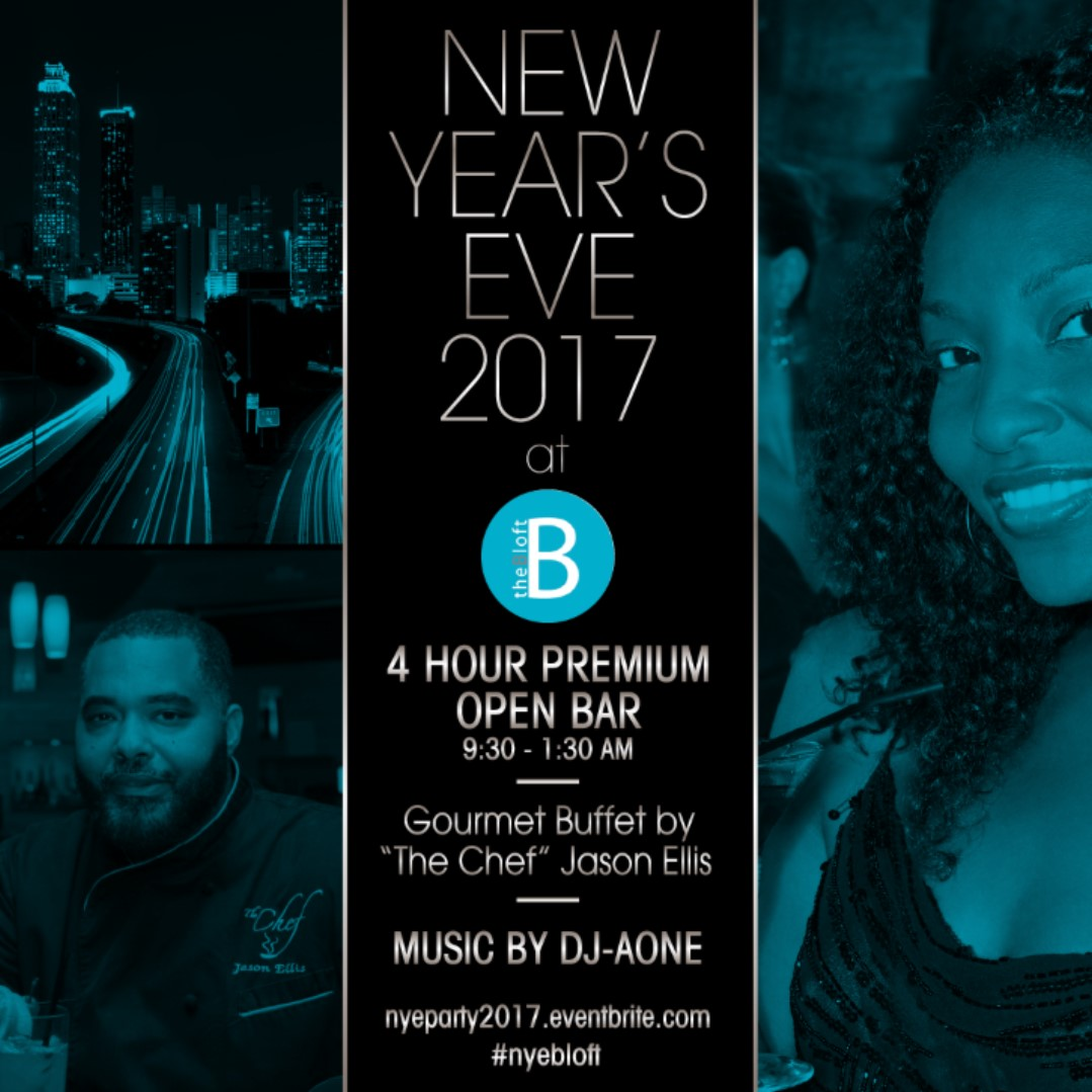 NYE 2017 @ B Loft Tickets, Sat, Dec 31, 2016 at 9:30 PM | Eventbrite