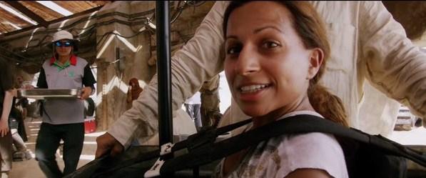 Arti Shah as a 'Gonk Droid'