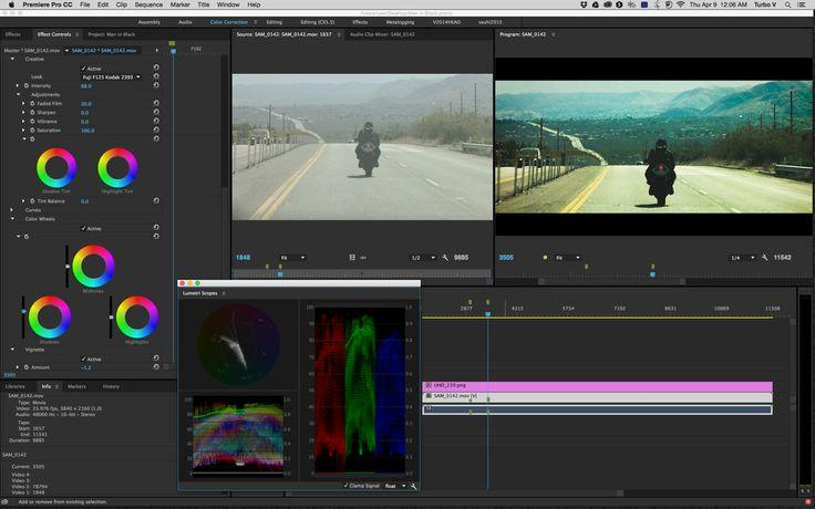 Colour correction premiere pro