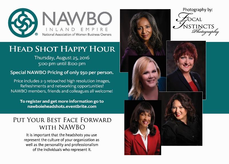 NAWBO IE Head Shot Happy Hour