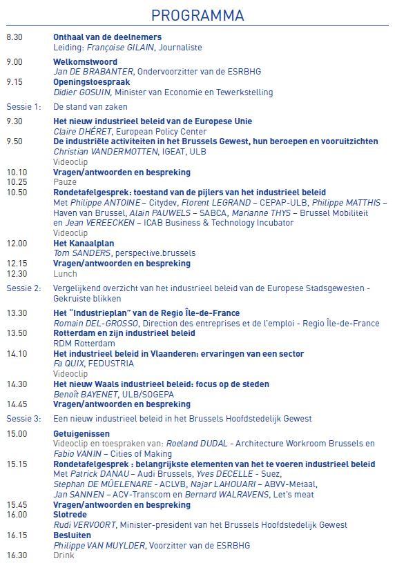 Programma Colloquium 2017
