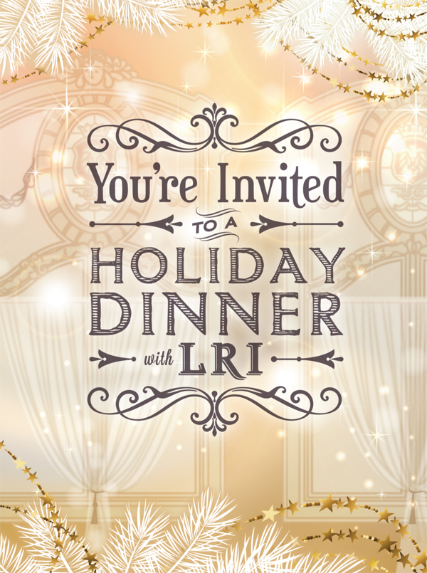 Holiday Dinner Invitation at The Dorrance