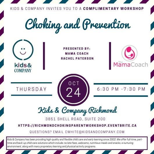 Richmond Parent Workshop Oct 24