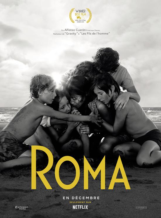 Affiche du film Roma d'Alfonso Cuaron