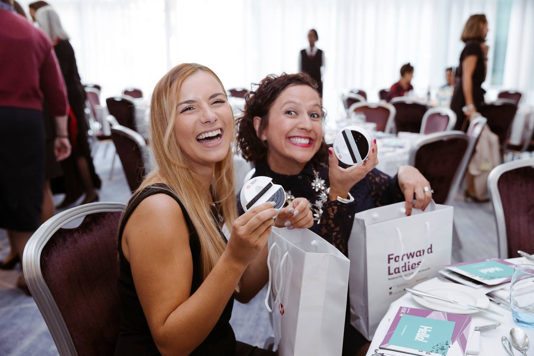 Forward Ladies goody bag happy faces
