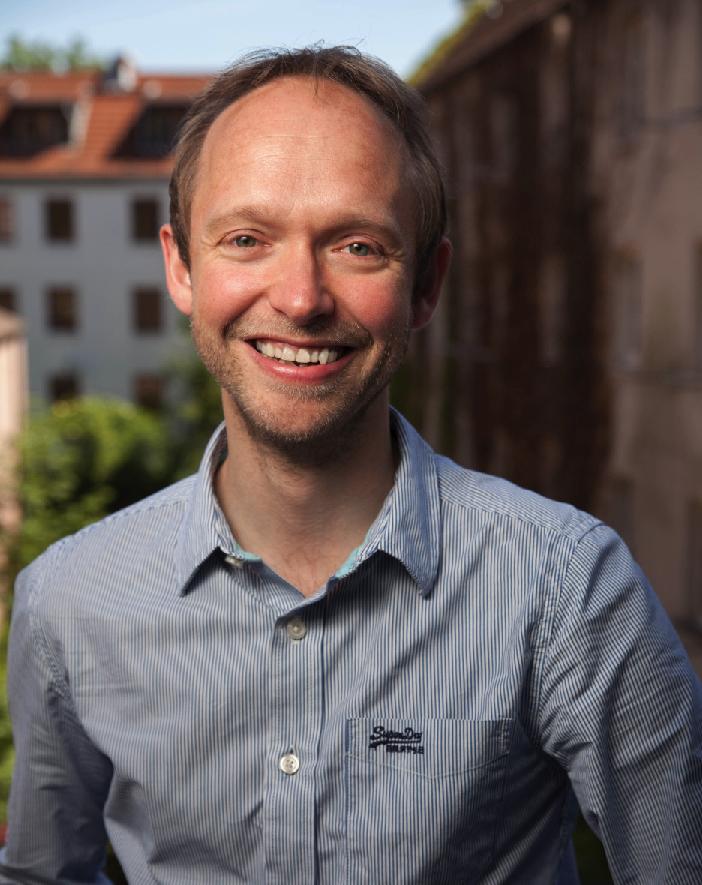 Portrait photo of Mindfulness coach Markus Wittwer