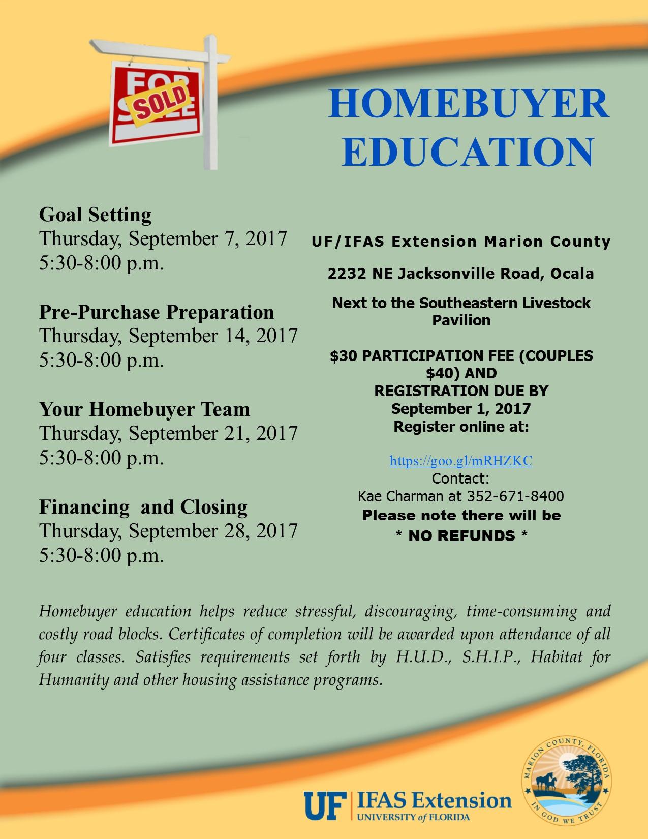 September 2017 HBE Flyer