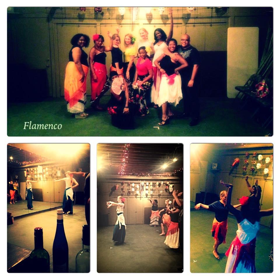 Past BYOB Flamenco Class