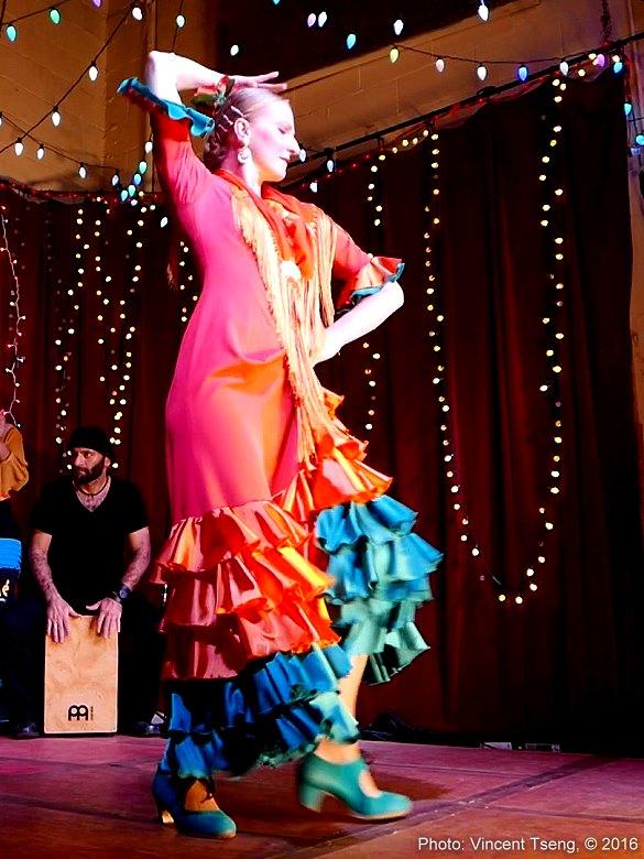 Ania La Candela flamenco