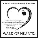 WALK OF HEARTS Plaque