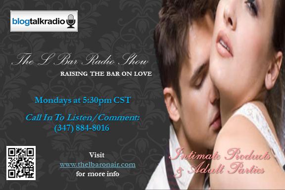 The L Bar On Air Radio Show Mondays at 5:30pm CST  www.thelbaronair.com