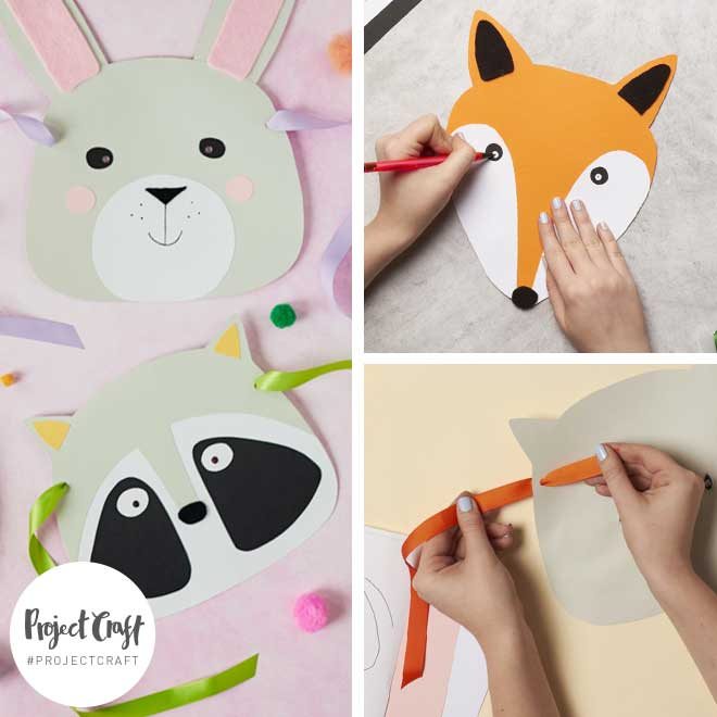 Paperchase Project Craft - Kids Craft – Animal Masks