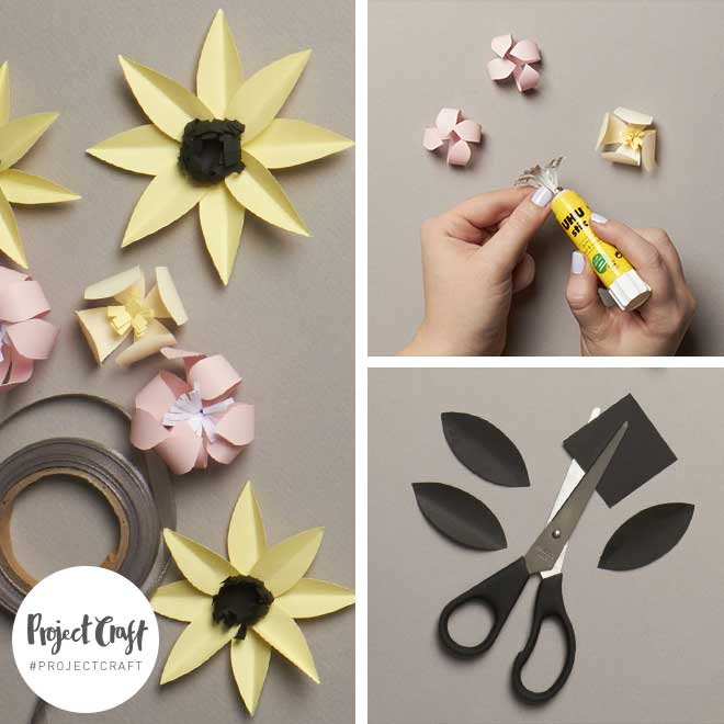 Paperchase Project Craft - Paper Flowers – Crown