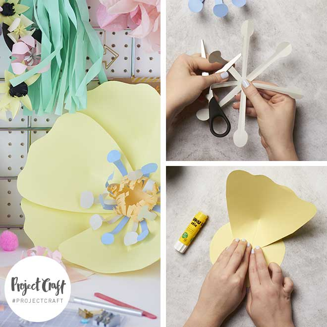 Paperchase Project Craft - Giant Paper Flowers