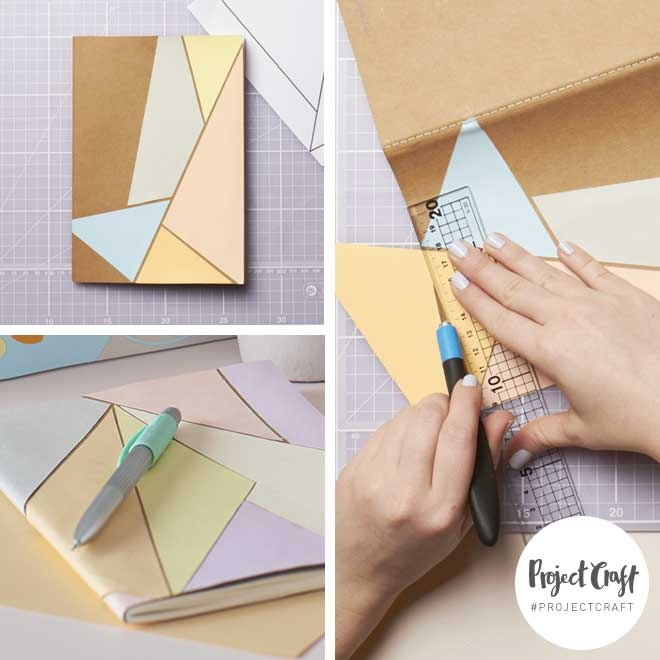 Paperchase Project Craft - DIY Stationery – Notebook