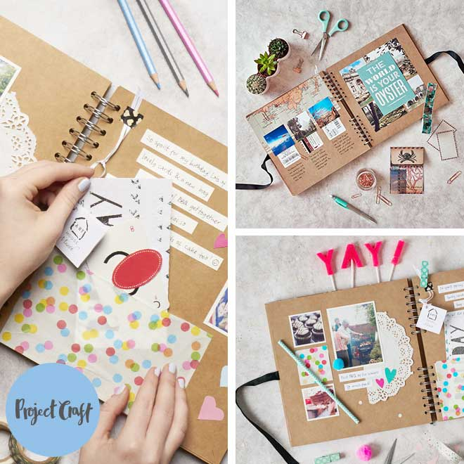 Project Craft - How to Scrapbook