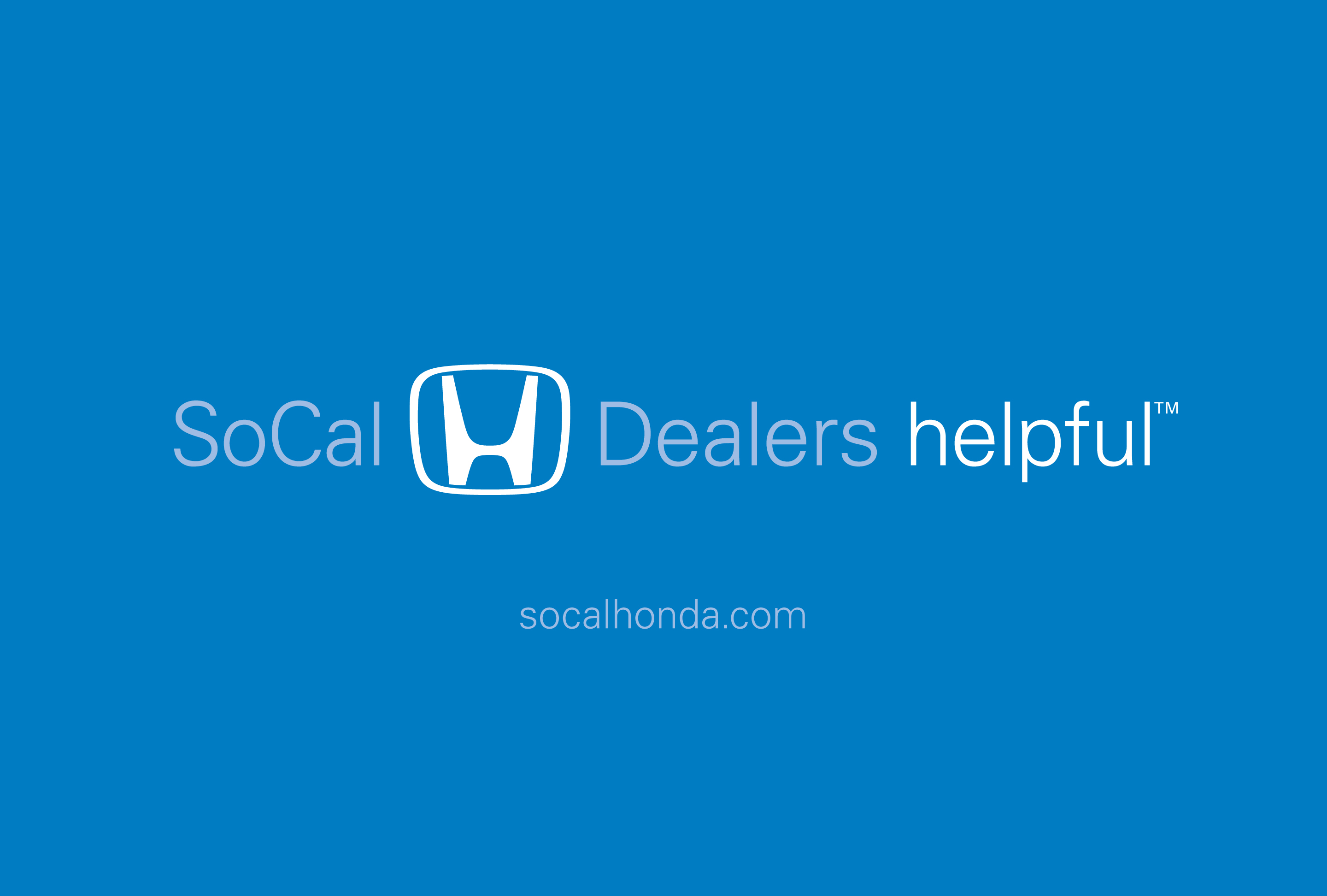 SoCal Honda Dealers Logo